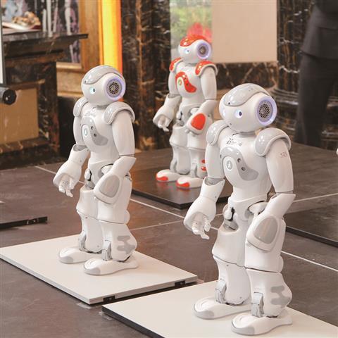 龙光地产世博会机器人主题展